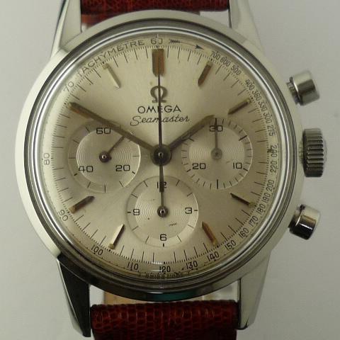 Vintage Omega Seamaster 321 Chronograph
