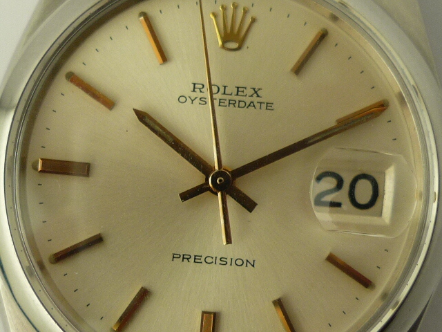 Rolex Oysterdate 6694 calibre 1225