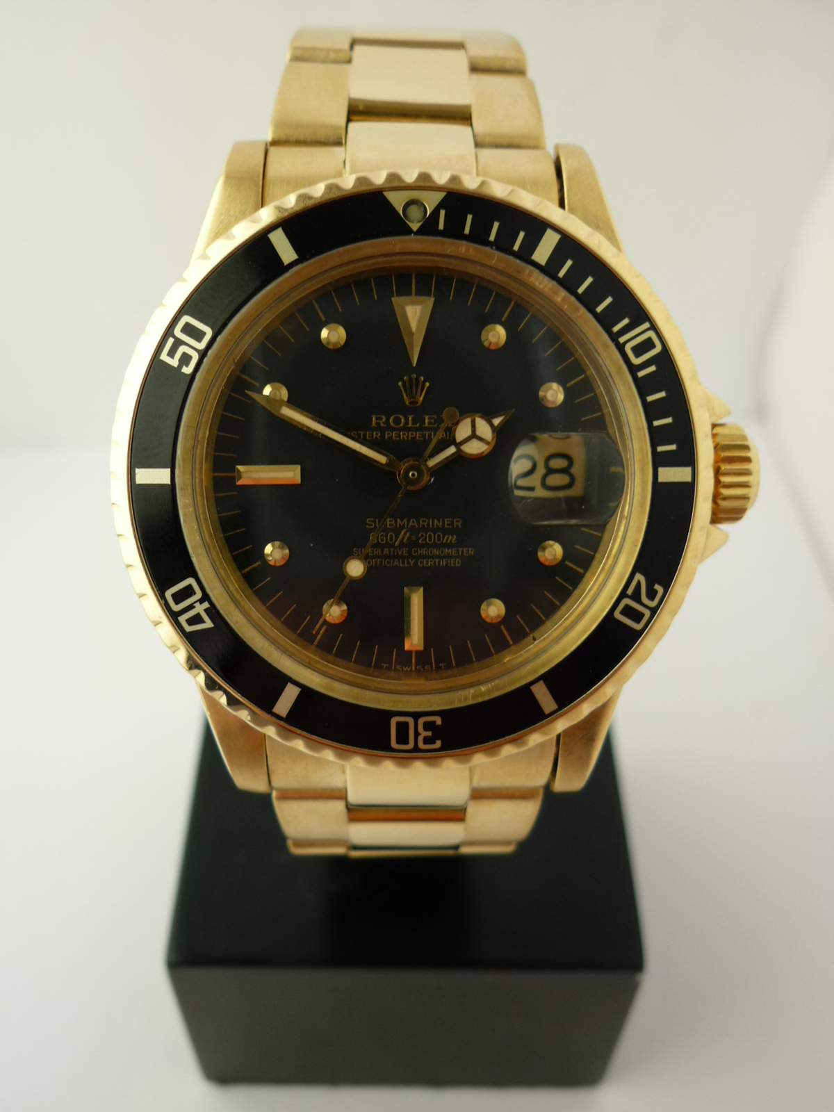 Rolex Submariner 1680/8 18ct (1978)
