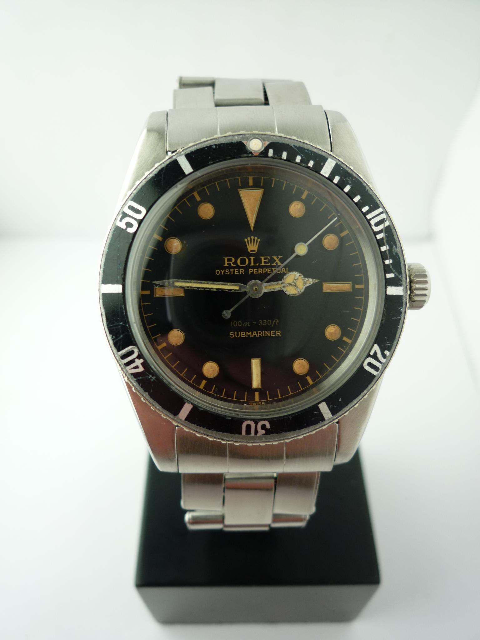 Rolex Oyster Submariner 6536-1 (1958)