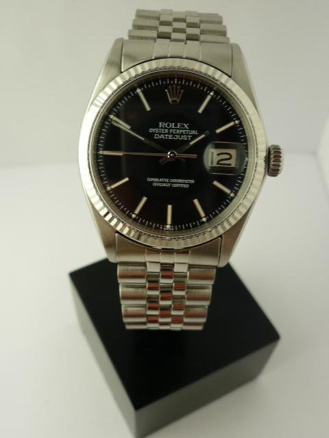 Vintage Rolex Datejust 18CT/SS ref 1601 (1970)