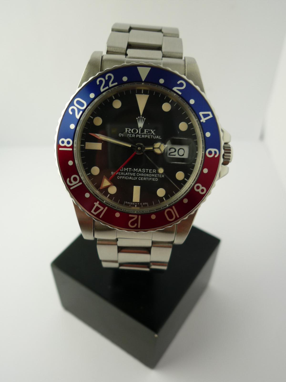 Rolex GMT ref 16750 (1983)
