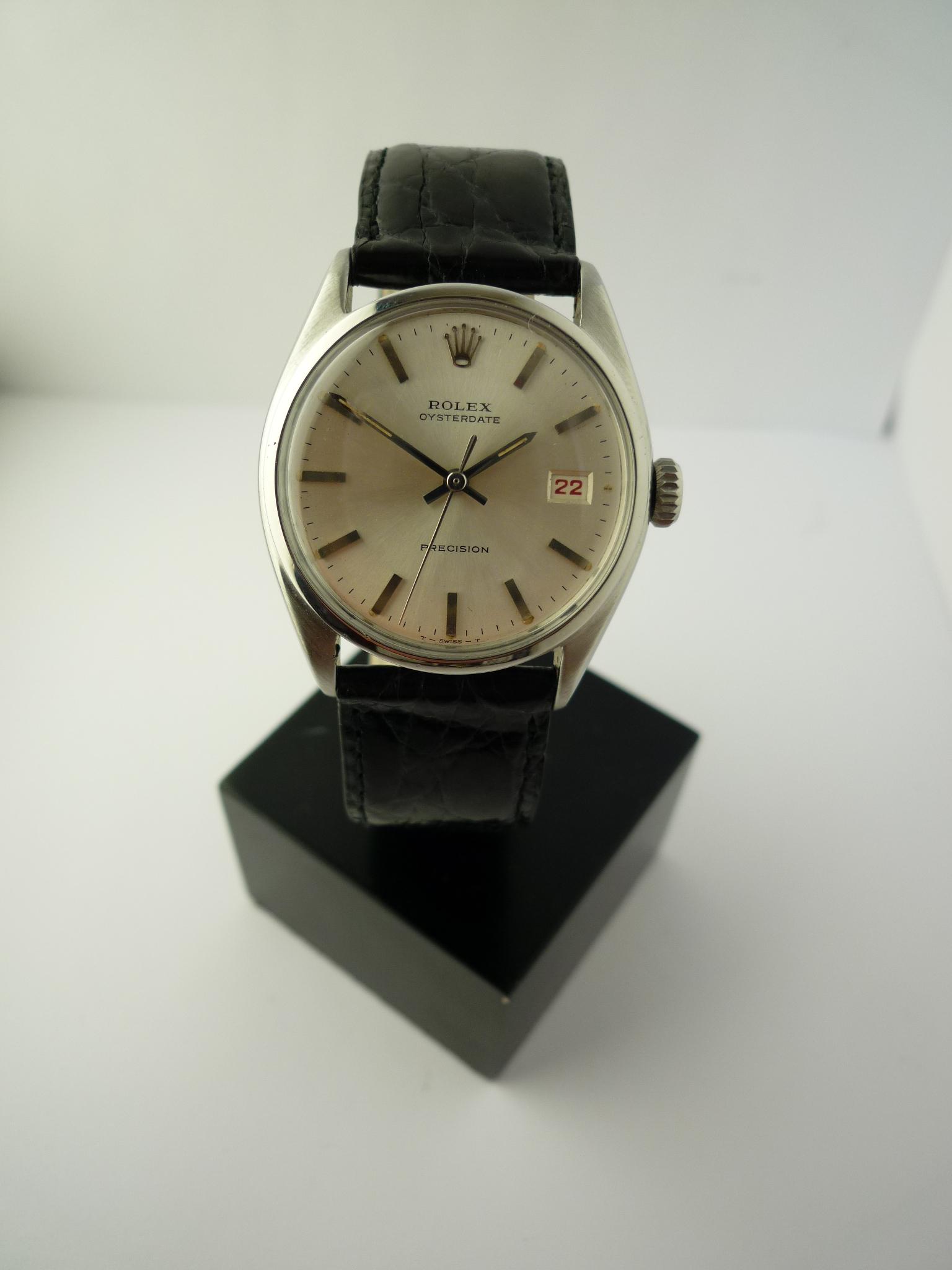 Rolex Oysterdate Precision ref 6094 (1967)