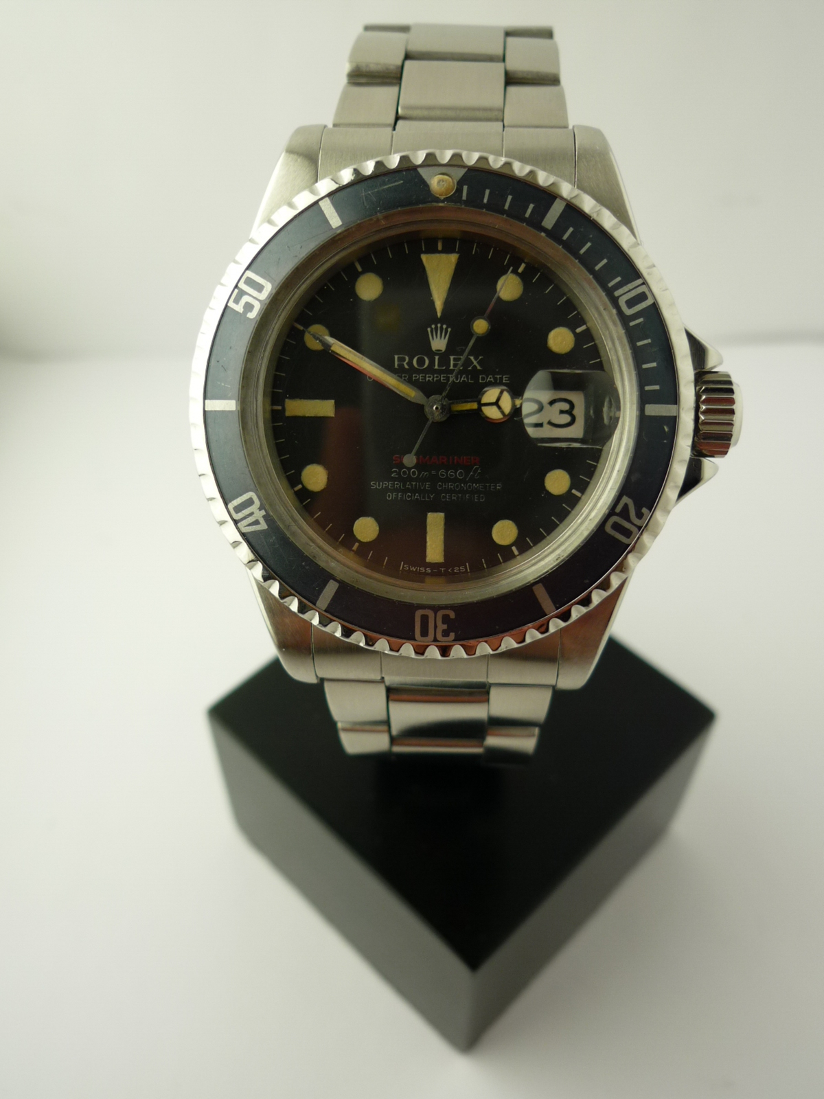 Rolex Red Submariner ref 1680 (1967)