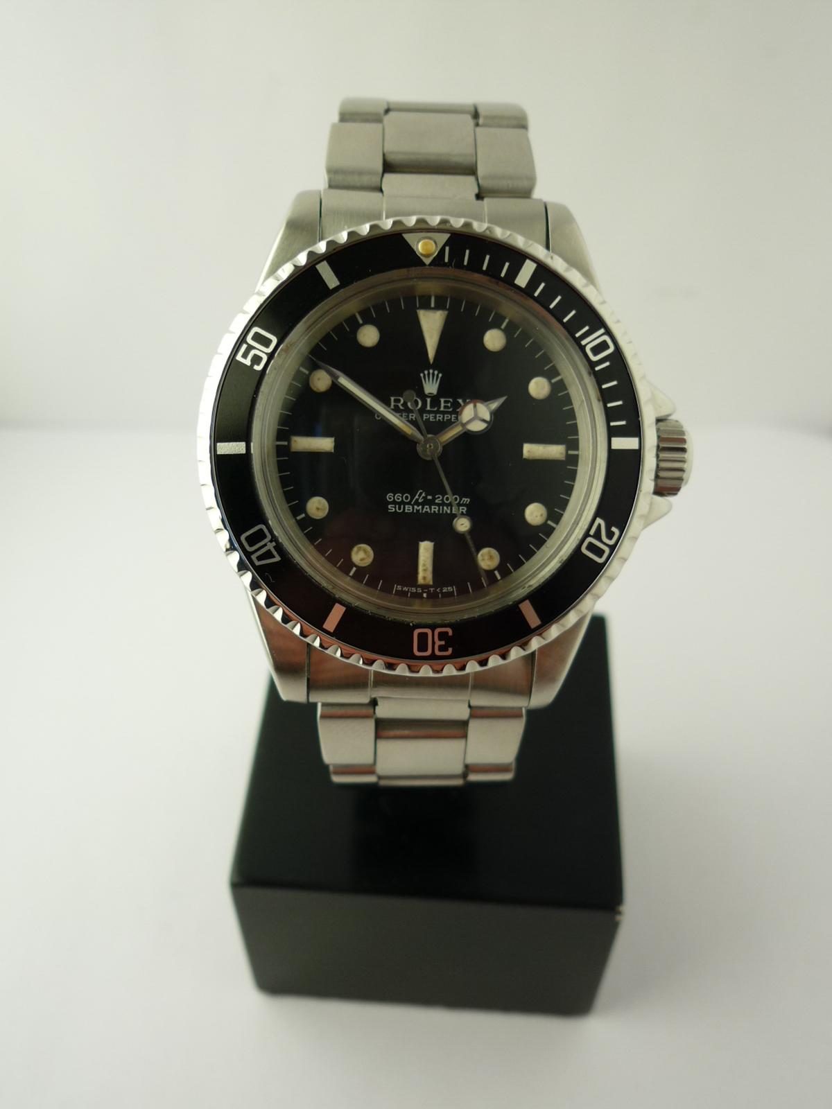 Vintage Rolex Submariner 5513 (1968)