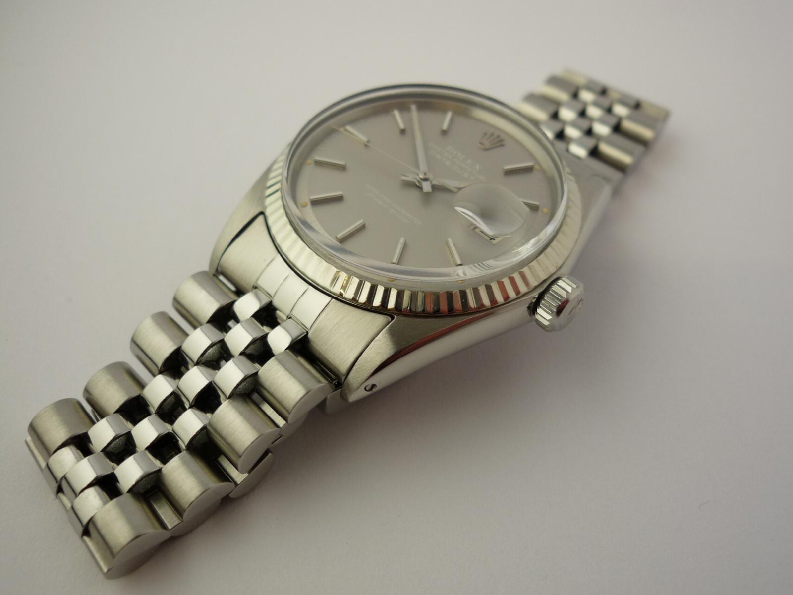 Vintage Rolex Datejust Rare Polar dial