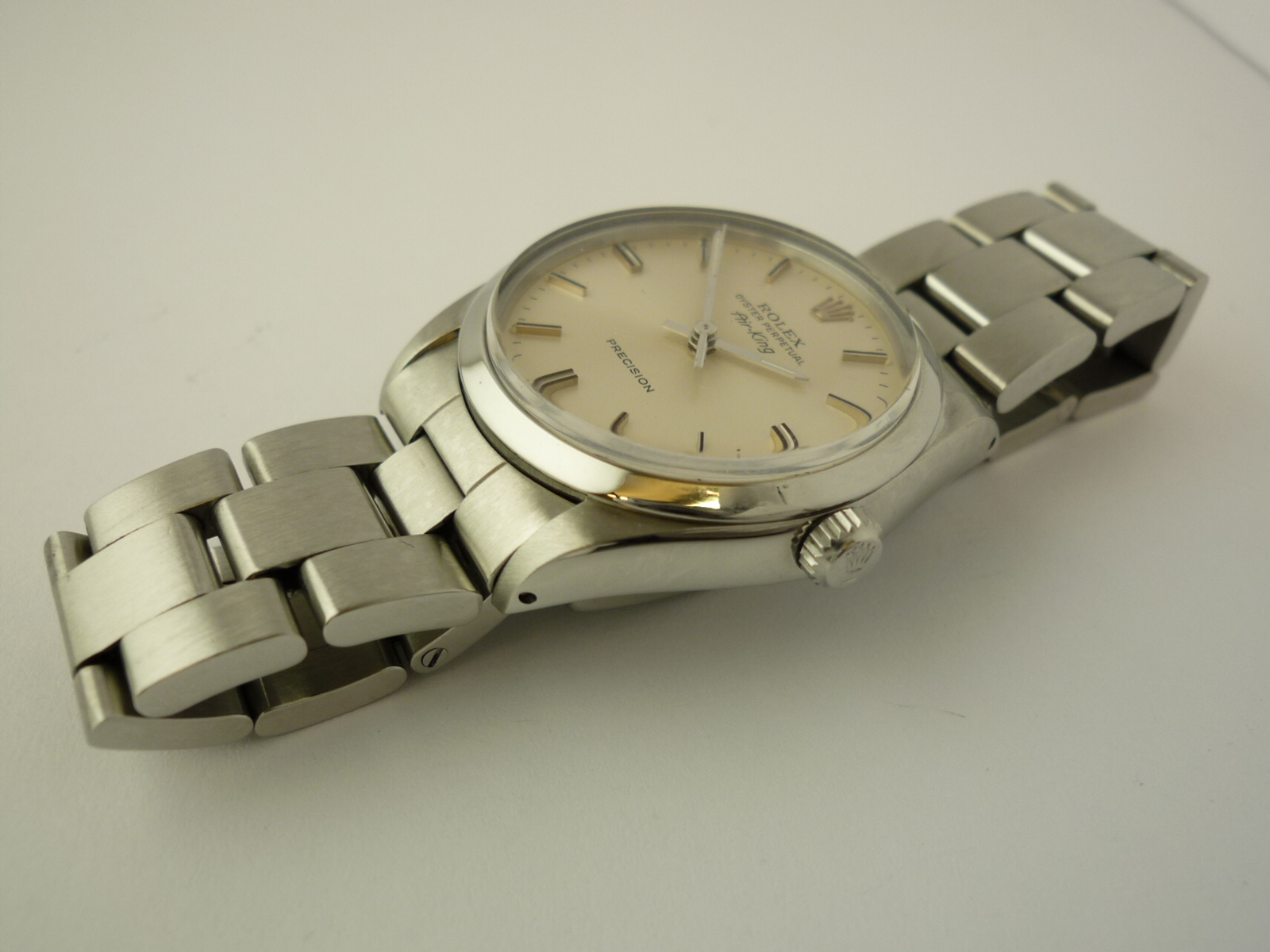 Vintage Rolex Oyster Perpetual Air King ref 5500 (1987).