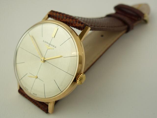 Longines classic 18ct dress watch (1968)