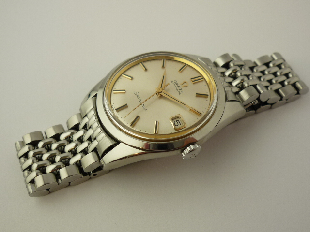 Omega Seamaster Automatic Date watch Ref 166010 (1965)