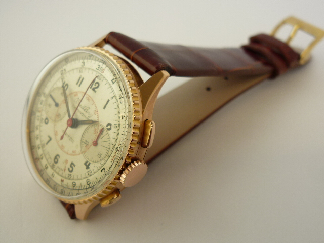Breitling Chronomat Watch 18ct ref 769 (1945)