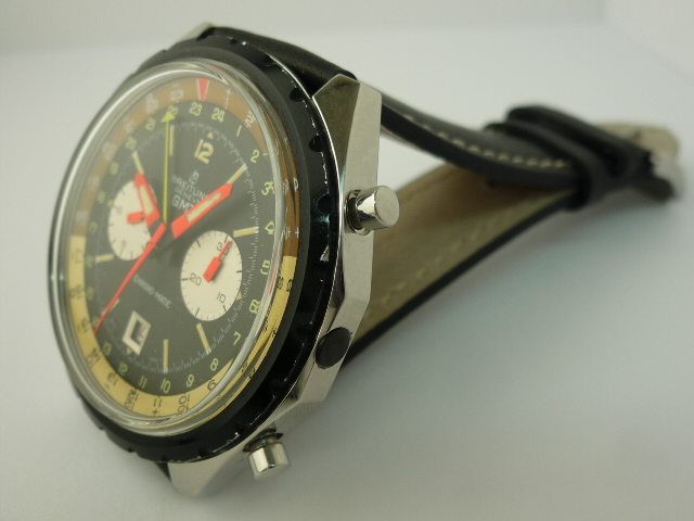 Breitling GMT Chronograph watch ref 2115 (1969)