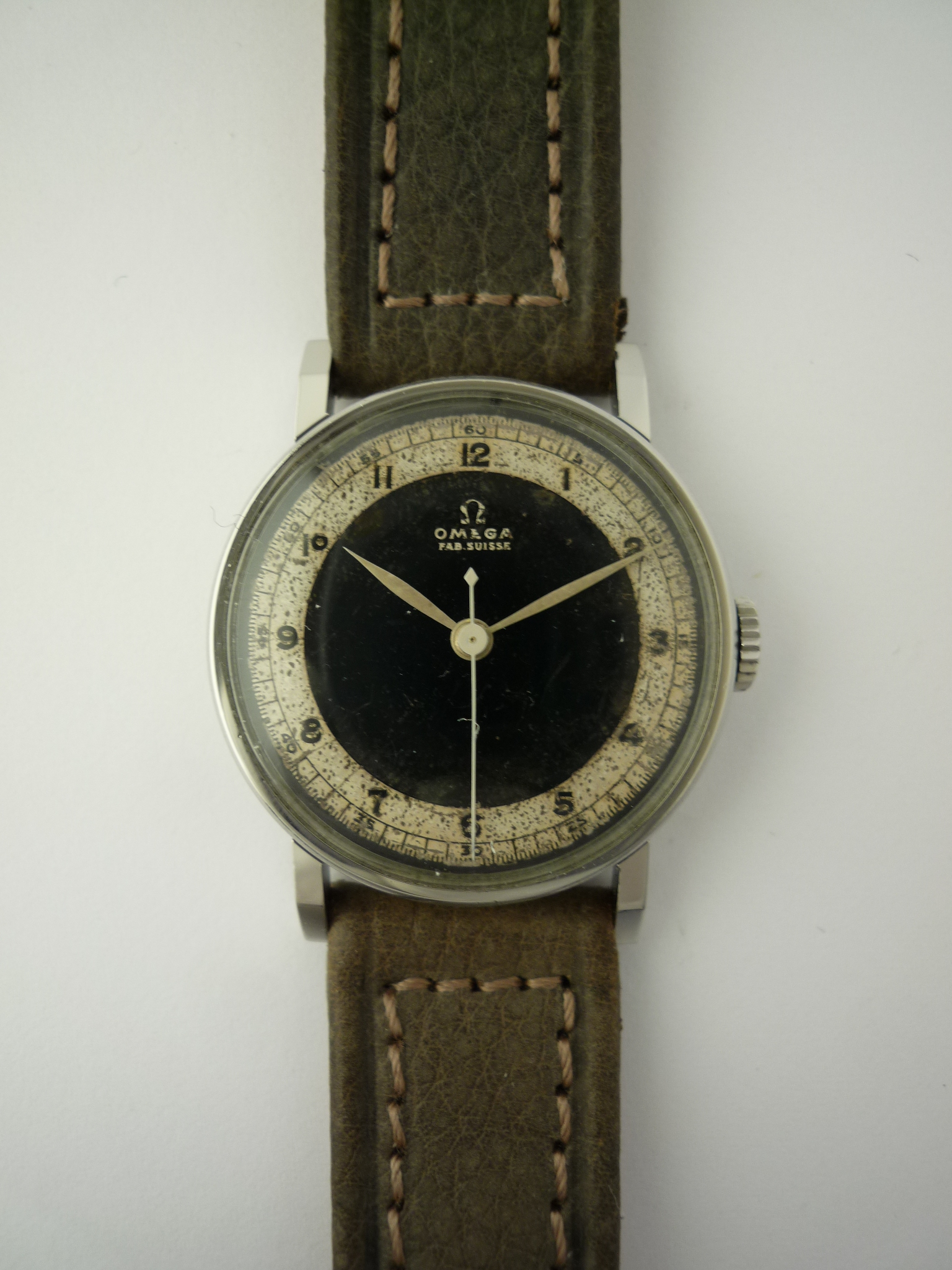Omega Art Deco wristwatch (1940)