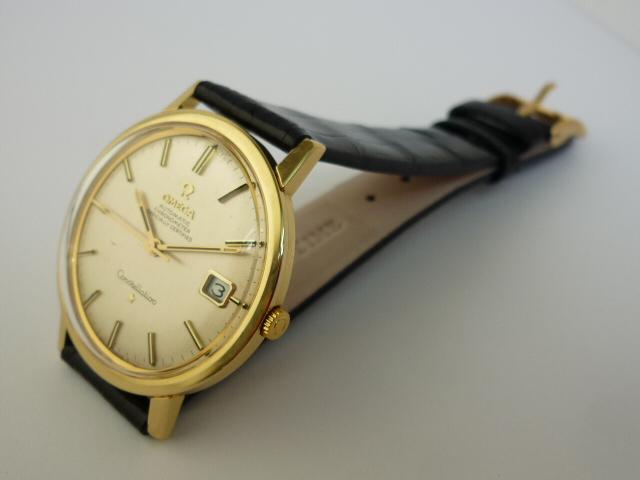 Omega Constellation 18ct gold wristwatch (1968)
