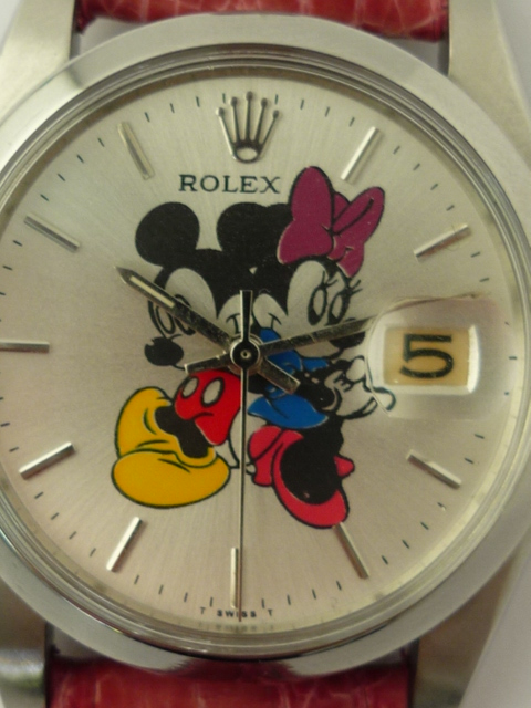 Vintage Watches For Sale >> Rolex OysterDate Mickey Mouse watch ref 6694 (1963)
