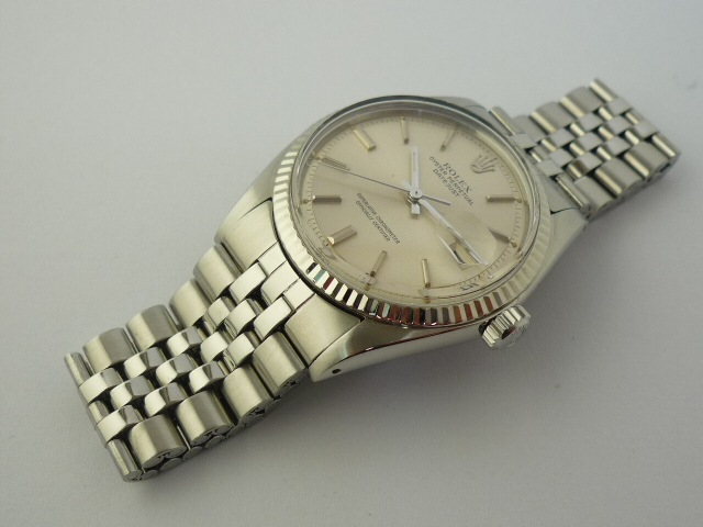 Rolex Oyster Perpetual DateJust watch ref 1601 (1972)