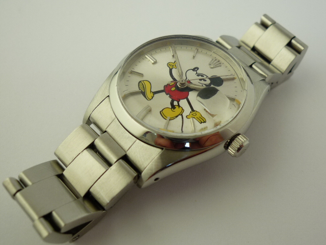 Rolex OysterDate Mickey Mouse watch ref 6694 (1959)