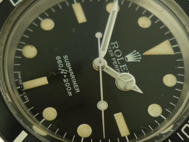 Rolex Submariner watch ref 5513 (1970)