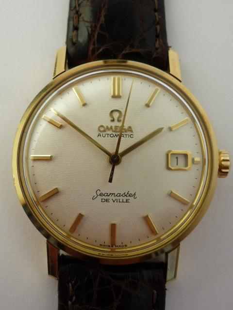 Vintage Omega Watches >> Omega Seamaster De Ville watch 18ct Gold (1964)