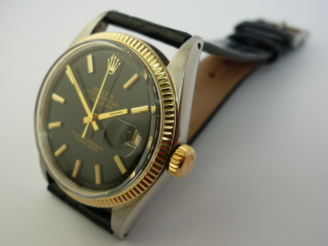 Rolex Oyster Perpetual DateJust watch ref 1601 (1962)