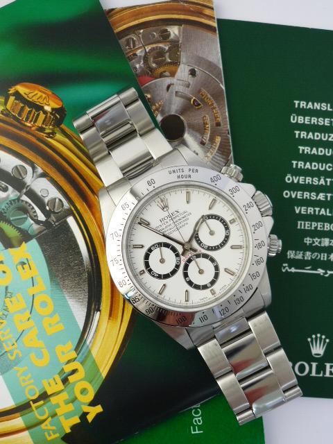 Rolex Daytona zenith watch ref 16520 (1998)