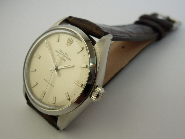 Rolex Oyster perpetual Air King watch ref 5500 (1960)