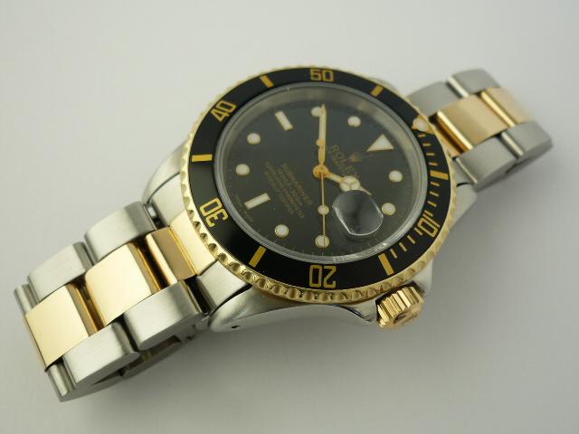 Rolex Submariner watch ref 16613 (1990)