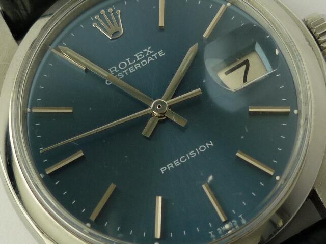 Vintage Rolex OysteDate precision ref 6694 (1978).
