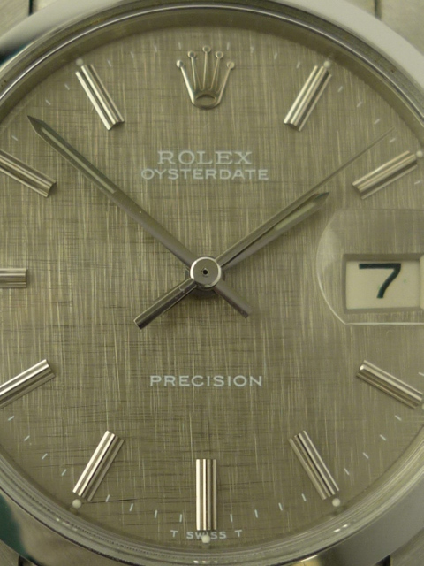 Vintage Rolex OysteDate precision ref 6694 (1968).