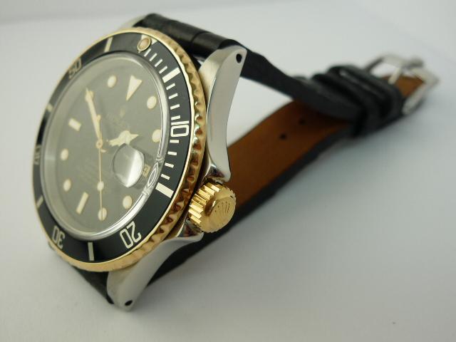 Rolex Submariner watch ref 16803 (1987)