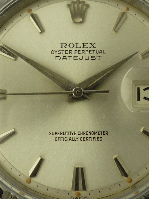 Rolex Oyster Perpetual Date Watch ref 1603 (1960)