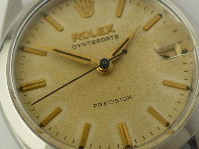 Vintage Rolex OysterDate precision ref 6466 (1966).