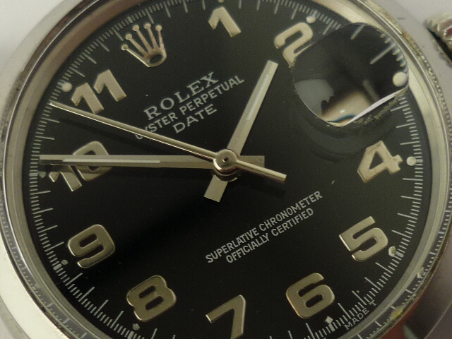 Vintage Rolex Oyster Perpetual Date ref 1500 (1978)
