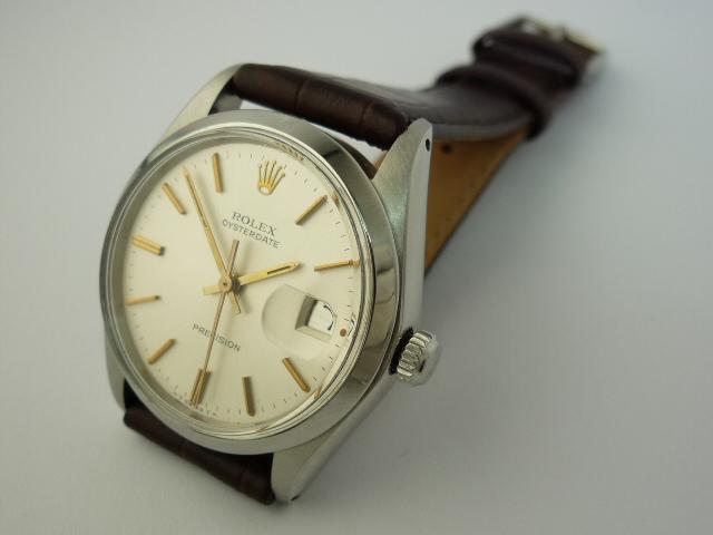 Vintage Rolex OysteDate precision ref 6694 (1969).