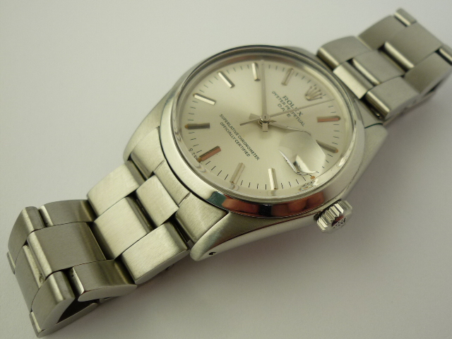 Vintage Rolex Oyster Perpetual watch ref 1500 (1972)