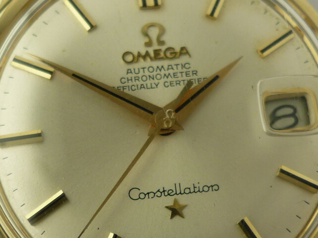 Omega Constellation watch ref 168-005 SC (1966)