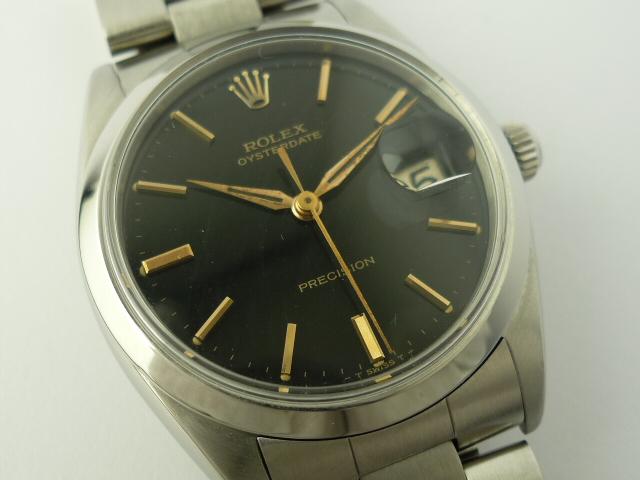 vintage rolex oysterdate precision watch ref 6694 1962. Black Bedroom Furniture Sets. Home Design Ideas