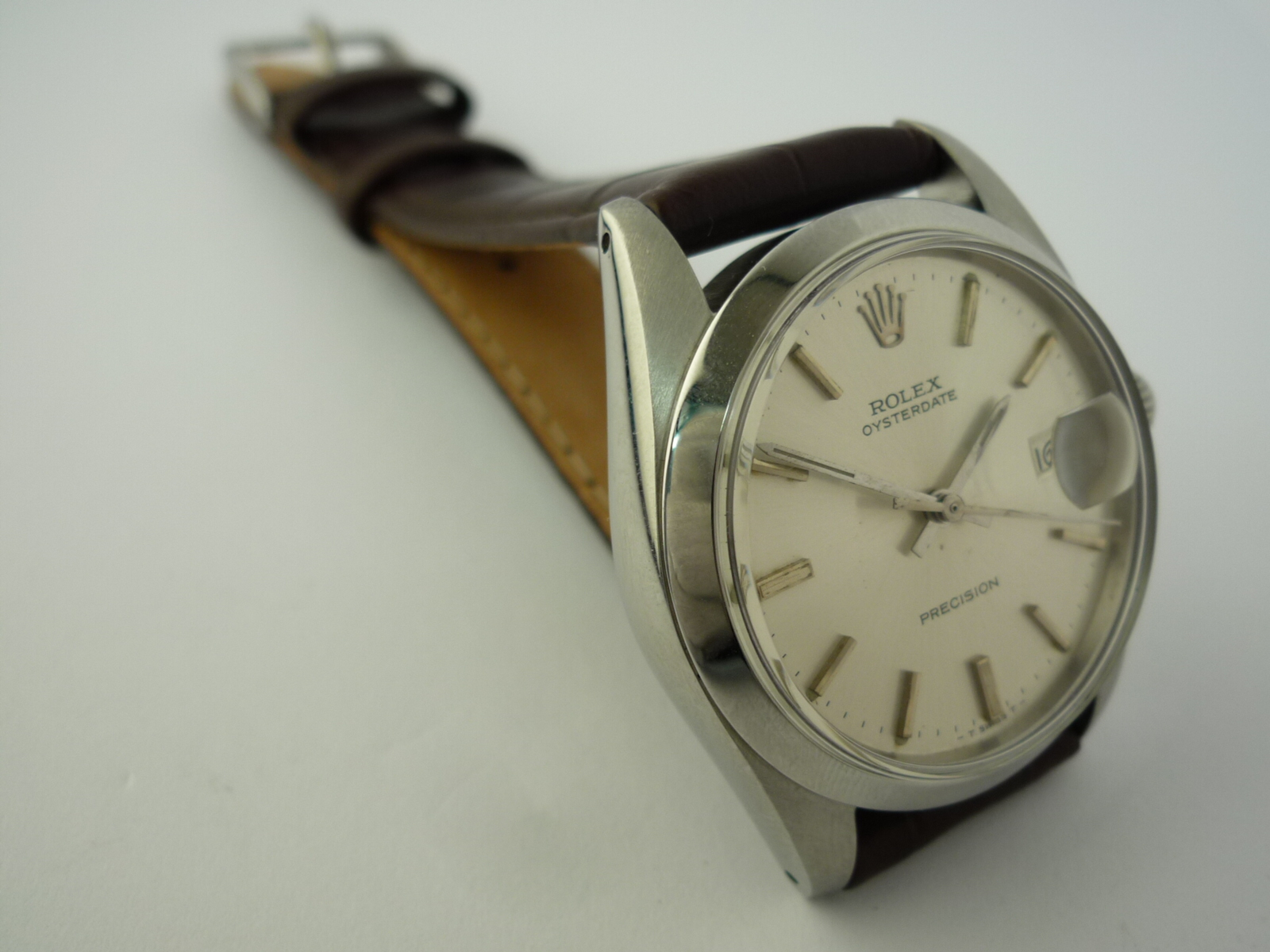 vintage rolex oysterdate precision watch ref 6694 1971. Black Bedroom Furniture Sets. Home Design Ideas