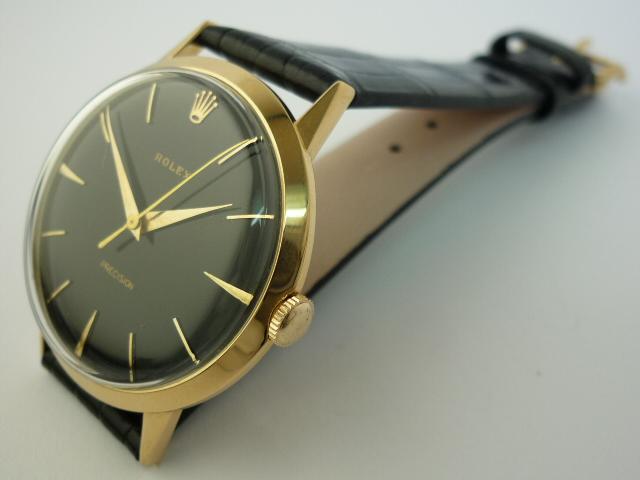 Vintage Rolex 18ct Solid Gold Precision Watch  (1966)