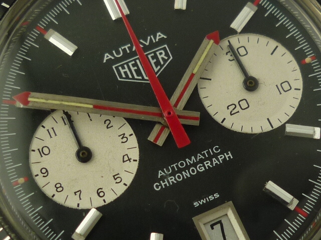 Heuer Autavia Automatic Chronograph watch ref 1133 (1976)