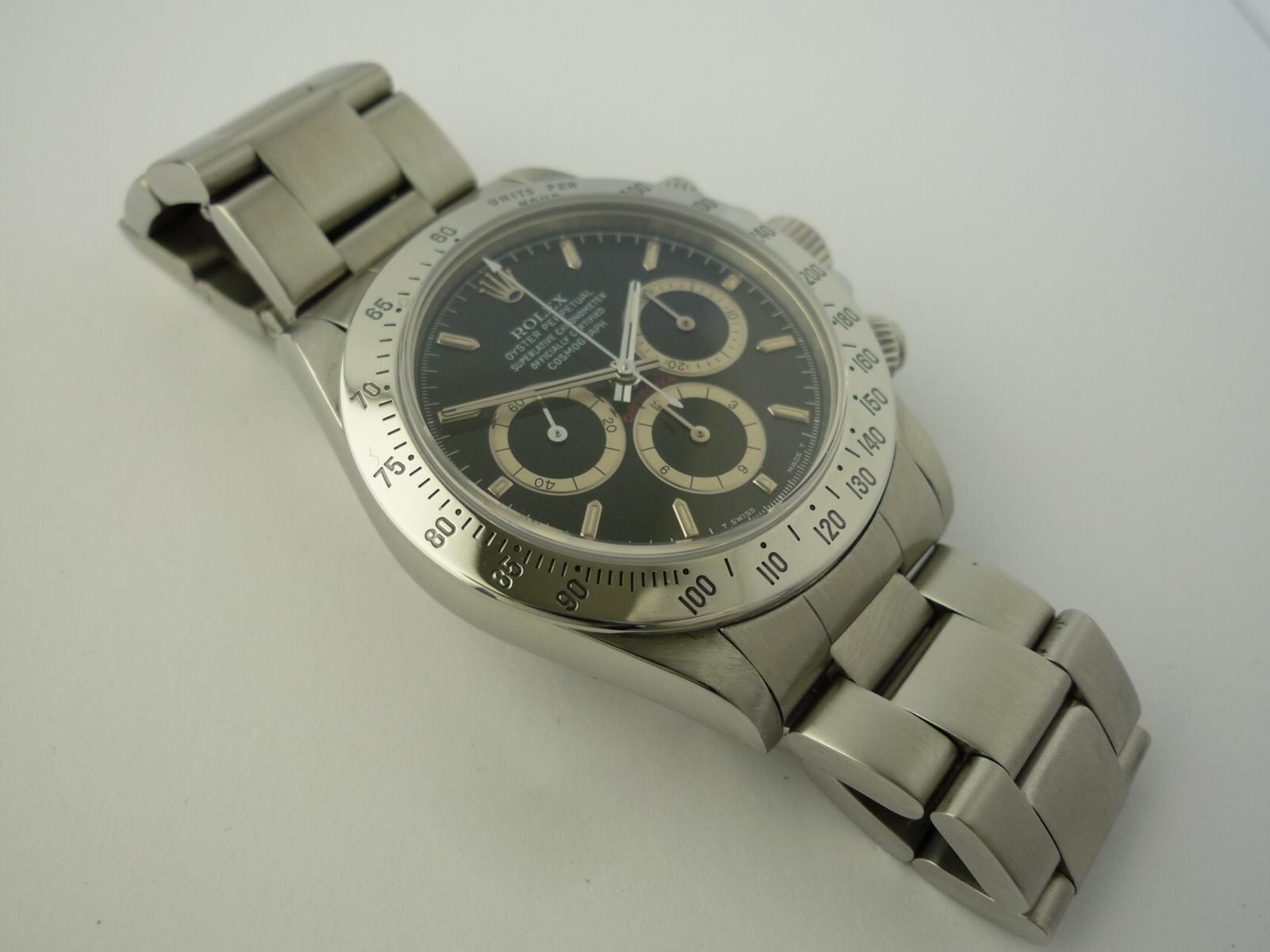 Rolex Daytona zenith ref 16520 watch (1996)