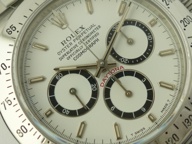 Vintage Rolex Daytona Zenith watch ref 16520 (1991)