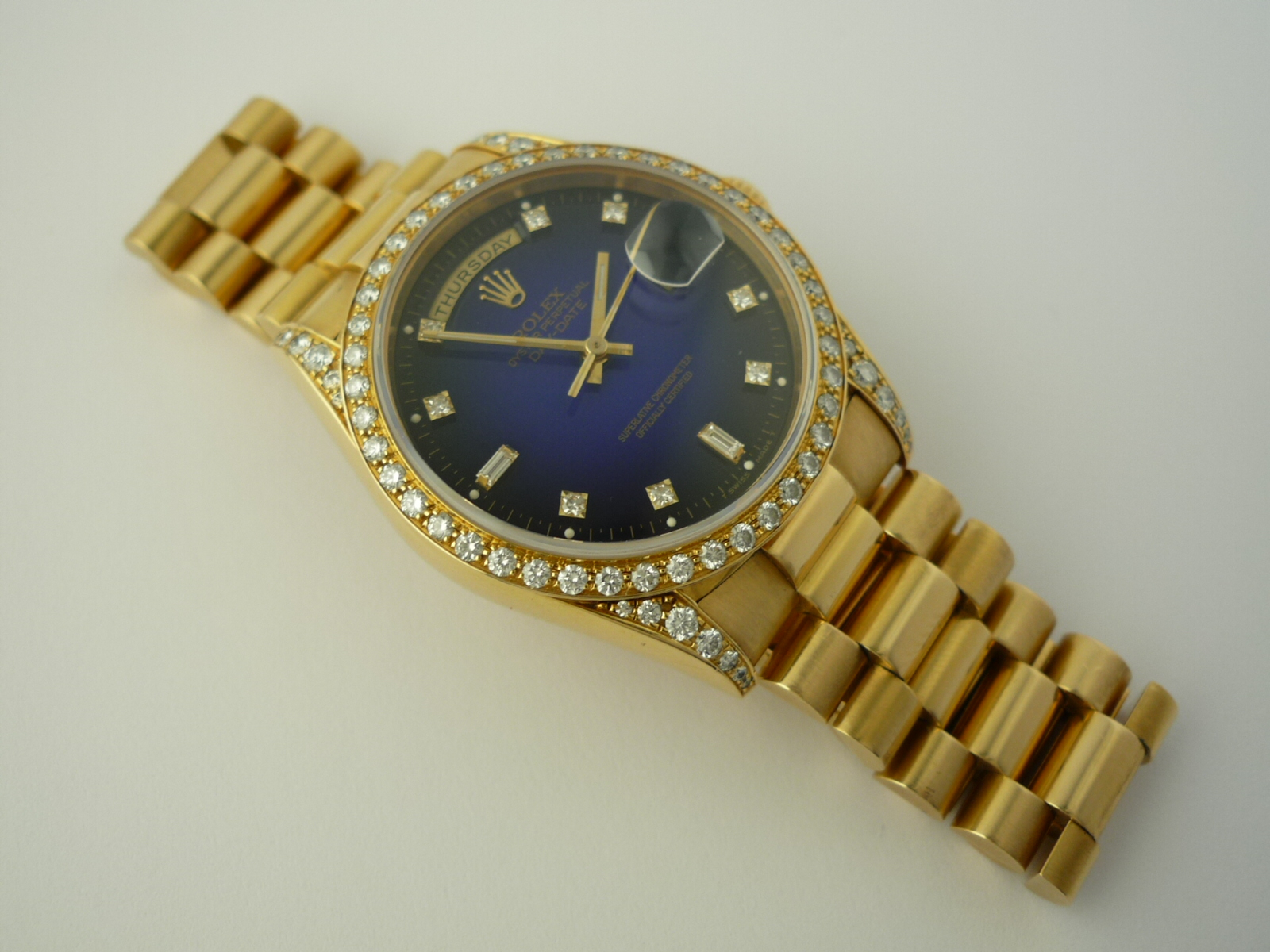 Rolex Oyster Perpetual Day Date Ref 18388 1990 Box And