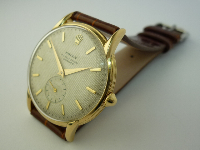 Vintage Rolex Chronometer watch ref 4816 18ct Gold (1951)