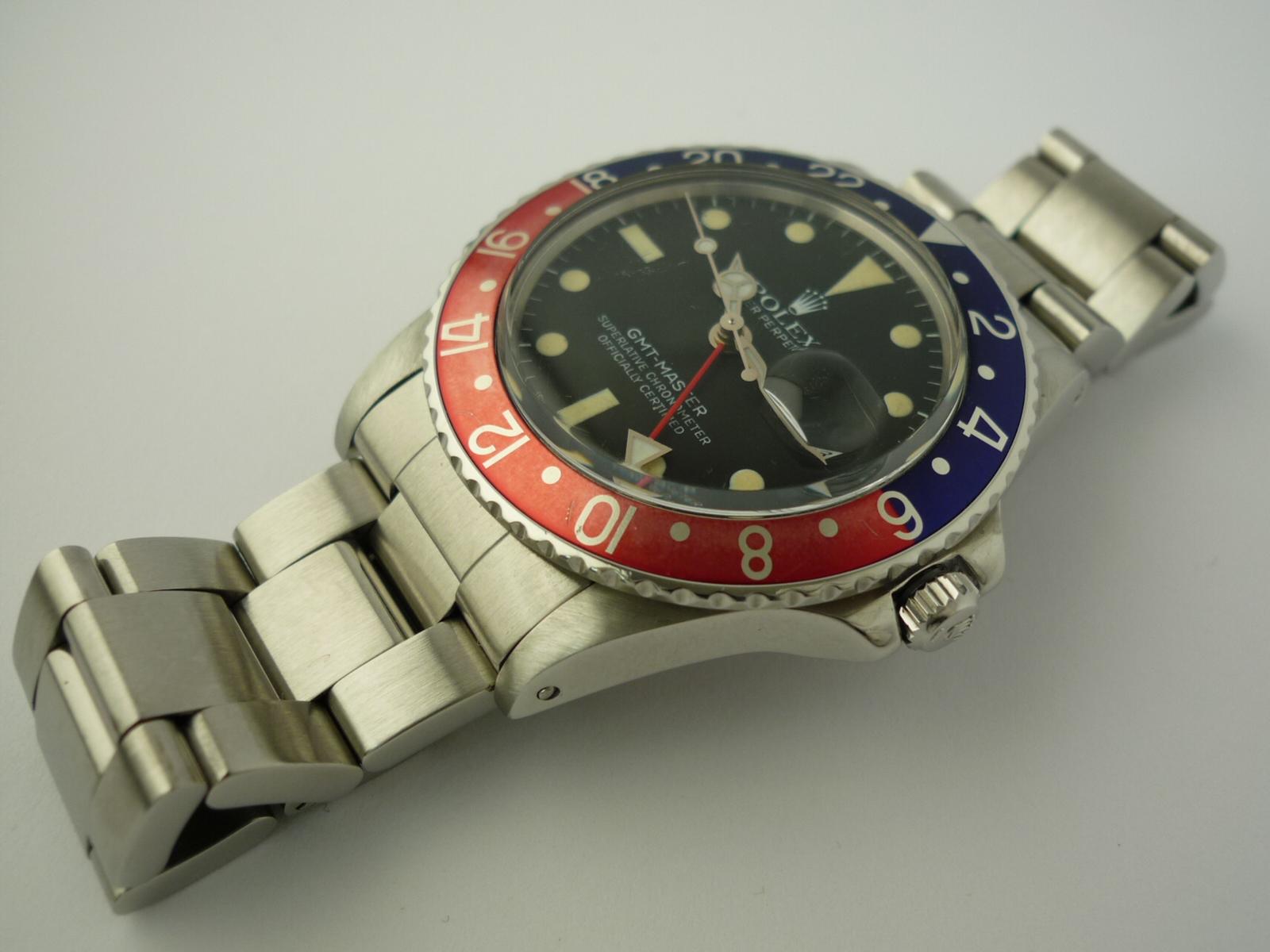 Rolex GMT Master ref 16750 Watch (1980)