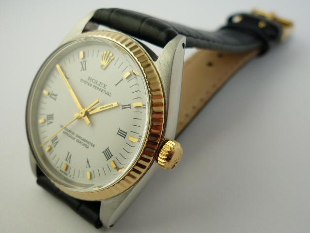 Rolex Oyster Perpetual Date ref 1038 (1968).