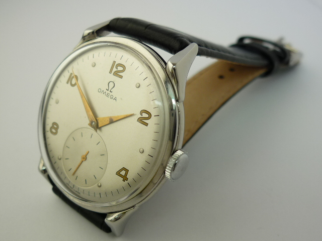 Omega Stainless steel Watch ref 2603-2 (1952)