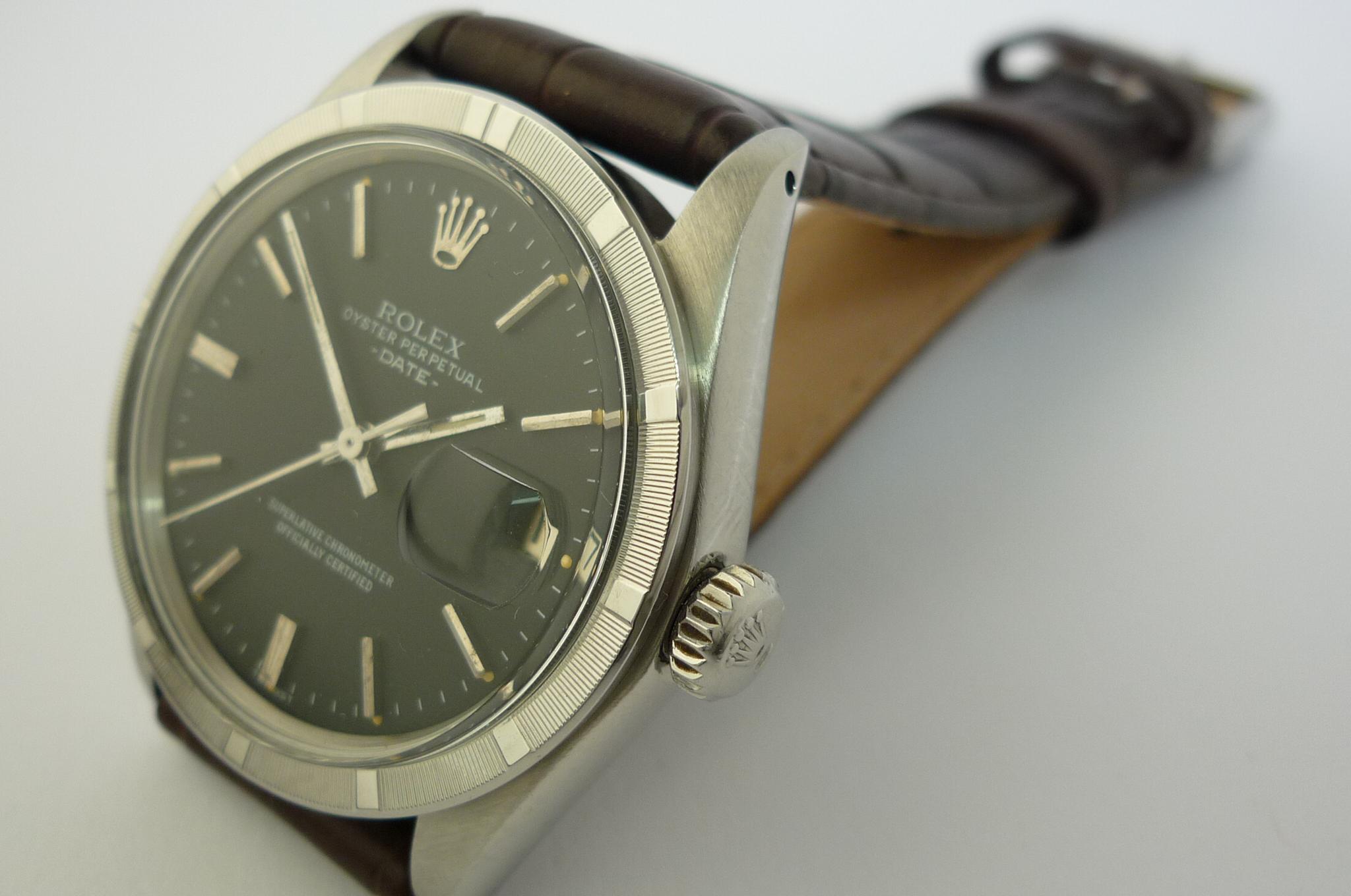 Rolex Oyster Perpetual Date ref 1501 (1969)