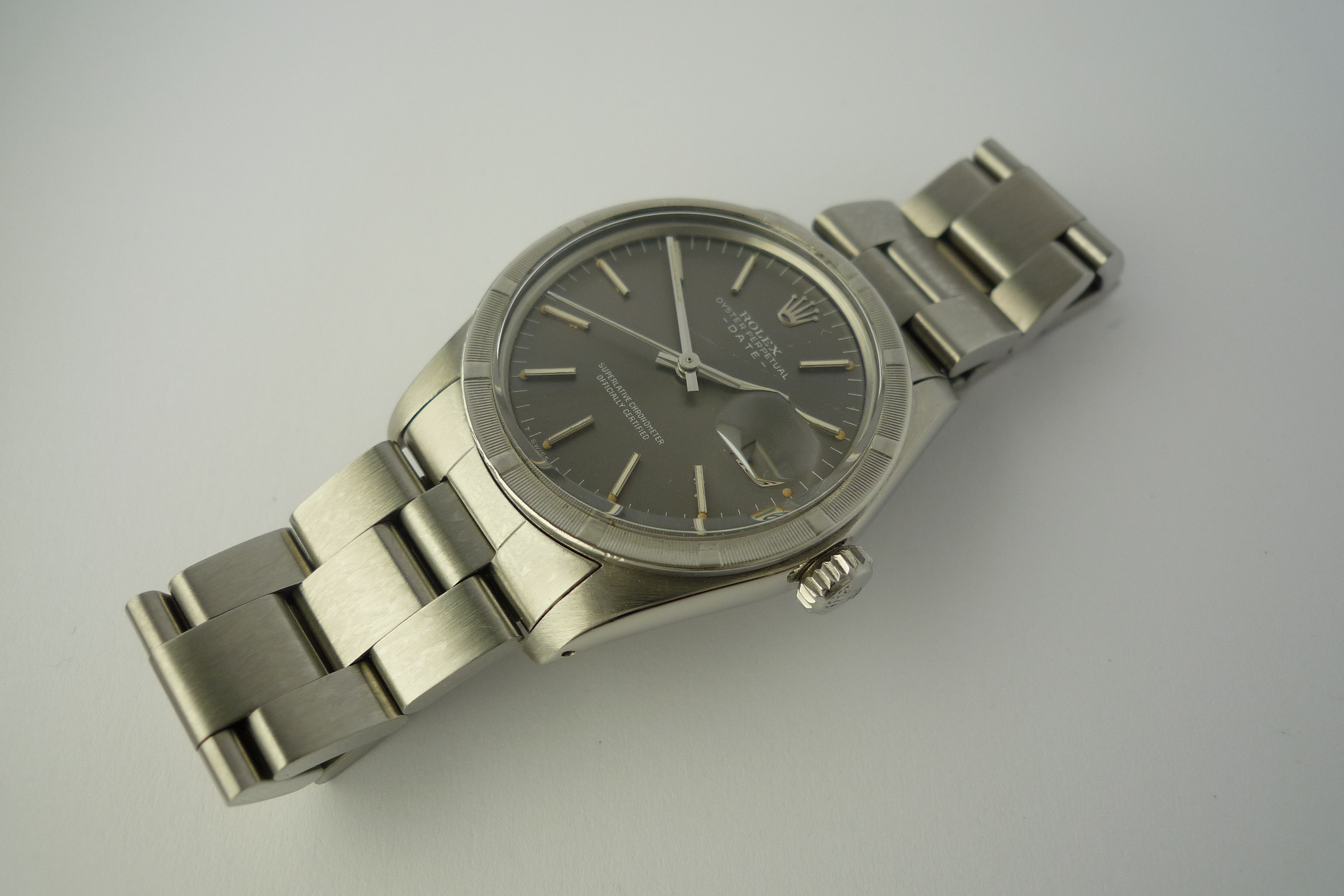 Rolex Oyster Perpetual Date ref 1501 (1977).