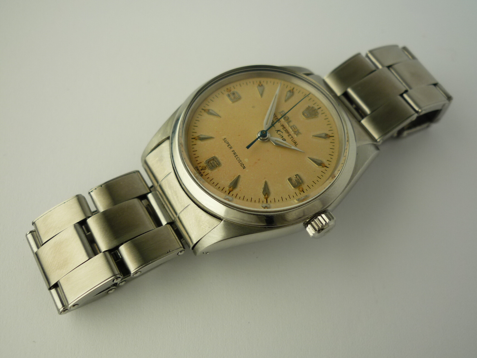 Rolex Oyster Perpetual Air King Date ref 5500 (1966)