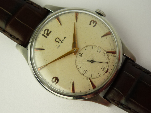 Omega Stainless steel Watch ref 2609-5 (1950)